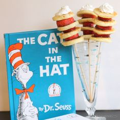 Dr. Seuss Pancake Stacks -- make this fun breakfast treat any day of the week!