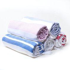 Turkish Pestemal Towels White
