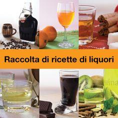 RACCOLTA DI RICETTE DI LIQUORI #liquori #raccolta #regalo #Natale #compleanno #festività #idearegalo