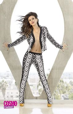 Victoria Justice, ... ... ... ... ... ... ...  ‏@VictoriaJustice  ·6 hours ago  ... #TBT to another shot from my @cosmoforlatinas shoot. #FunFearlessIssue