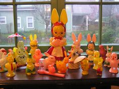 Vintage - Easter Plastic Toy Collection