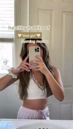 Beauty Routine Tips, Morning Beauty Routine, Morning Routine School, Healthy Morning Routine, Night Routine, Daily Routine Schedule, Summer Body Workouts, Teen Life Hacks, Glow Up Tips