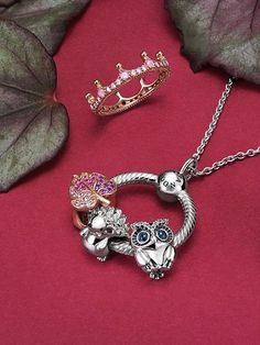 Update your look this autumn with new Pandora bracelets, necklaces, earrings, charms and other playful jewelry. Browse the entire collection for your favorites today. New Pandora Bracelet, Pandora Jewelry, Charm Jewelry, Charm Bracelets, Fall Jewelry, Art Deco Jewelry, Pandora Collection, Bracelet Designs, Bracelets
