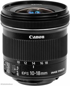 Canon 10-18mm IS A great APS-c ultra wide lens at a reasonable price.