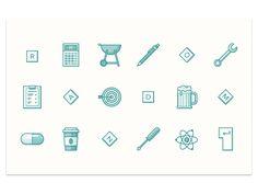 line style icon