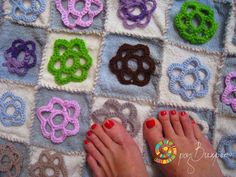 bath mat from recycled textiles http://razvihreno.com/2012/01/22/bath-rug/