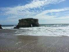 Natural Bridges State Park. New Years Day 2013.