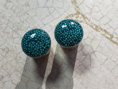 Pearl of the truth double or single flare ear plug, gorgeous blue color, 0g -8mm 00g -10mm, 12mm, 14mm, 16mm, 18mm, 20mm, 22mm, 25mm by BeanByTheBay on Etsy