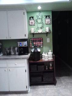 Aunt Nan's Coffee bar.