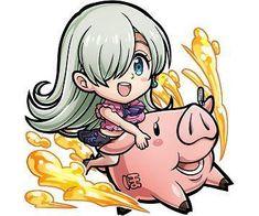 Seven Deadly Sins Anime, 7 Deadly Sins, Elizabeth Liones, Netflix Anime, Happy Tree Friends, Little Unicorn, Naruto Shippuden Anime, Doraemon, Sailor Moon