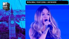 Rita Ora Performs 'Your Song' & 'Anywhere' Medley | MTV EMAs 2017 | Live...