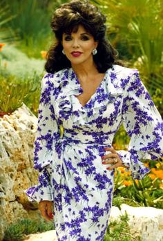..... in 1981, Joan Collins landed Alexis Carrington (later Colby), the role for which she is perhaps best known, in the long running 1980s prime time television soap opera Dynasty.