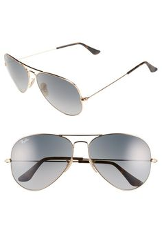 Ray-Ban 62mm Aviator Sunglasses available at #Nordstrom