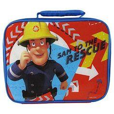 Tesco non food Fireman Sam, Lunch Box, Bags, Ideas, Purses, Taschen, Bento Box, Hand Bags
