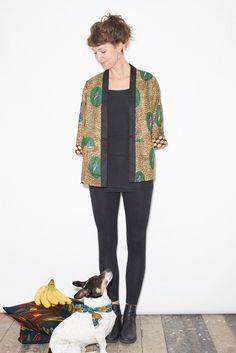 Reversible Kimono Jacket - Muschamp