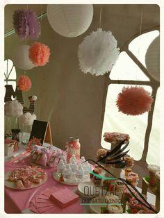 Mesa de dulces para María José #quetzaleventos #disenodeeventos #babyshowerMJ #eventospersonalizados