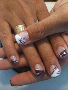 french nails tutorial How To Do Uv Gel Nails, Gel Nail Art, Toe Nails, Acrylic Nails, French Tip Nail Designs, Nail Art Designs, French Nails, Gorgeous Nails, Pretty Nails