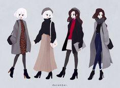 Trendy Drawing Clothes Inspiration Art 46 Ideas Source by ideas drawing inspiration Character Outfits, Character Art, Fashion Sketches, Art Sketches, Chica Anime Manga, Wow Art, Drawing Clothes, Fashion Art, Fashion Design