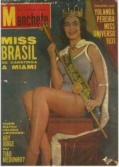 REVISTA MANCHETE - CAPA - CONCURSO DE MISS BRASIL