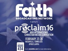 Proclaim the NRB International Christian Media Convention, is a four-day, jam-packed event that connects, equips, and edifies thousands of Christian comm.