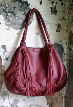 Bordeaux Shopping Bag