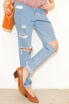 Today's Hot Pick :ダメージカットウォッシングゆるデニム http://fashionstylep.com/SFSELFAA0023013/stylenandajp/out