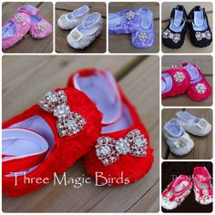 Hey, I found this really awesome Etsy listing at http://www.etsy.com/listing/126482920/baby-girl-christmas-red-crib-shoes