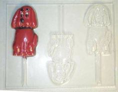 CLIFFORD THE BIG RED DOG CANDY MOLD MOLDS PARTY FAVORS