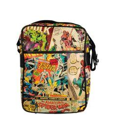 Marvel Comics Messenger Bag- Multi