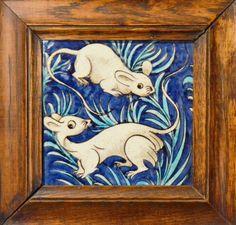 Jackfield Tile Museum, De Morgan animal tile | Flickr - Photo Sharing!