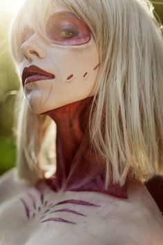 Attack on Titan : female titan. by Priestess-Shizuka.deviantart.com on @deviantART