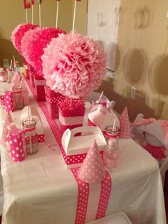 Hello Kitty Birthday Party Ideas | Photo 1 of 19 and like OMG! get some yourself some pawtastic adorable cat shirts, cat socks, and other cat apparel by tapping the pin!