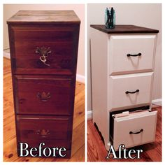 Filing Cabinet Makeover I Have Been Looking For A To Diy Refurbish And