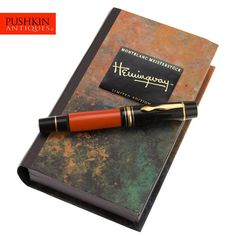MONTBLANC LIMITED EDITION HEMINGWAY WRITERS SERIES FOUNTAIN PEN 1992