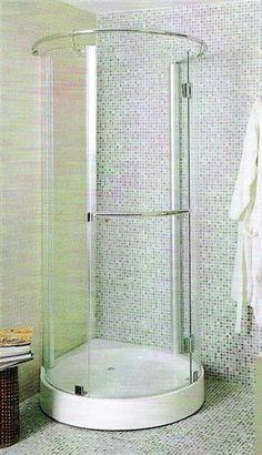 Corner Shower Stall Units Shower Enclosures Verona Circular Shower Enclosure Small Right 27