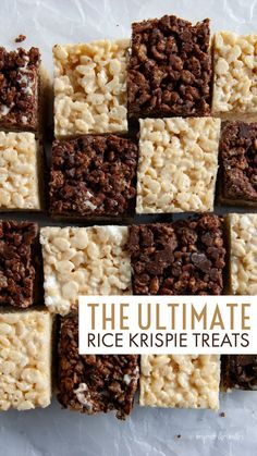 The Ultimate Rice Krispie Treats - Beyond the Butter