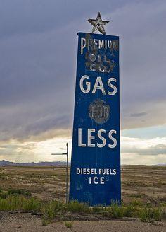 Vintage Gas Station Signs | Old Gas Station Sign | Flickr - Photo Sharing!