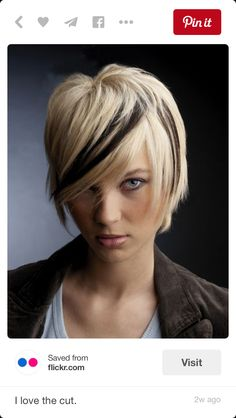 Love this haircut, between bob and pixie?