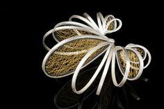 Jaesun Won - Steady rhythm - silver, silk thread