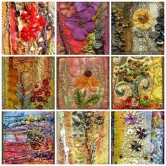 1. aceo quilt, 2. Really Hot Garden, 3. shadow garden aceo, 4. Hot garden, 5. wild flower, 6. ACEO, 7. Wild Prairie Sunrise, 8. ACEO art quilt, 9. ACEO  Created with fd's Flickr Toys.