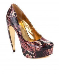 Platform curved heel shoe - SAWP - Ted Baker