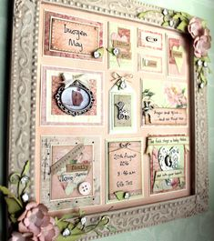 There is a bit of a baby boom around here and this time it is my best friend . Little Girls, I Am Awesome, Scrapbook, Rose, Card Ideas, Projects, Summer, Cards, Trays