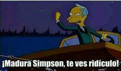 48 Ideas For Memes Para Contestar Los Simpson Memes Simpsons, The Simpsons, Memes In Real Life, Life Memes, Memes Funny Faces, Internet Memes, Spanish Memes, New Memes, Meme Template