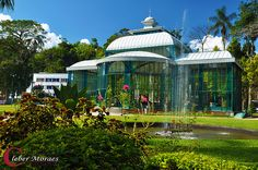 Jardim Palácio de Cristal - Petrópolis - RJ - Brasil