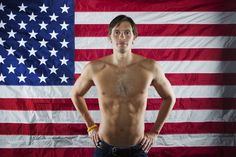 What a champ. #beatcancer! Swimmer Eric Shanteau poses for a portrait during the 2012 U.S. Olympic Team Media Summit in Dallas, Texas May 14, 2012. www.london2012.com #Sport #Olympics #Photography #London2012 #Portrait #Photography #Swimming