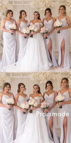 A-Line Spaghetti Straps Bridesmaid Dress,Cheap Bridesmaid Dresses,WGY0417#bridesmaids #bridesmaiddress #bridesmaiddresses #dressesformaidofhonor #weddingparty #2020bridesmaiddresses Light Grey Bridesmaid Dresses, Cheap Bridesmaid Dresses Online, Cheap Homecoming Dresses, Wedding Bridesmaid Dresses, Wedding Party Dresses, Bridesmaid Ideas, How To Dress For A Wedding, Dress Vestidos, Bridal Gowns