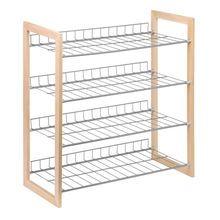 Honey-Can-Do 4-Tier Closet Accessory Storage Shelf