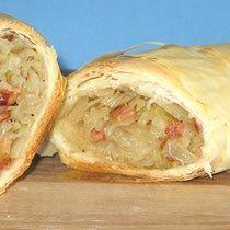 Croatian Savory Cabbage Strudel Recipe - Strudla s Kupusom or Savijača s Kupusom