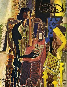 Georges Braque - The Patience, 1942