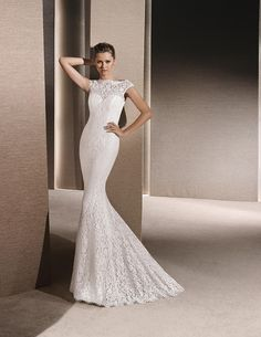 La Sposa - Ray (front) - Available at Stella's Bridal & Evening Collections